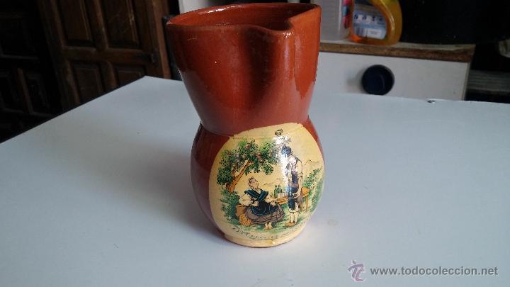Antigüedades: Gran lote de jarras antiguas - Foto 21 - 44245643