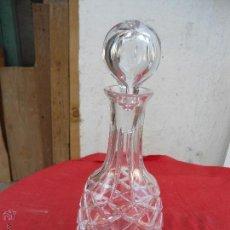 Antigüedades - Decantador de vino de cristal tallado - 44249973