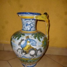 Antigüedades: JARRÓN TALAVERA FIRMA - SASO -. Lote 180443328