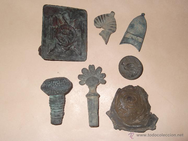 Mo22 lote de objetos antiguos hebilla falange comprar for Compra de objetos antiguos