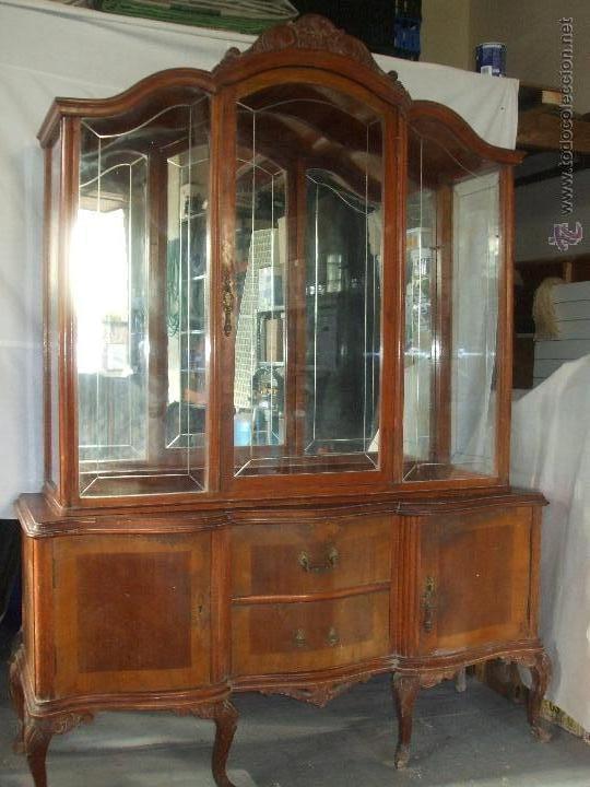 Vitrina a os 60 comprar vitrinas antiguas en todocoleccion 57307658 - Muebles anos 60 ...