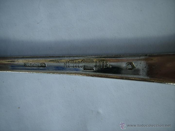 Antigüedades: **ANTIGUA CUCHARA DE,MENESES GRABADA EN LA PARTE POSTERIOR**(20 cm) - Foto 4 - 44276723