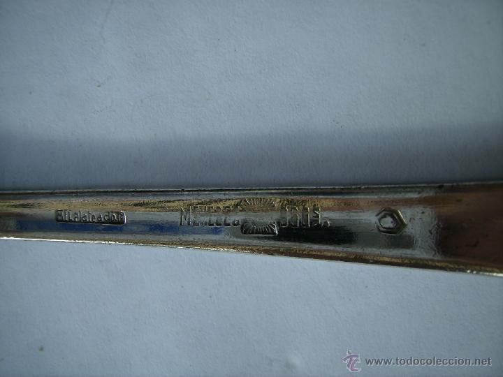 Antigüedades: **ANTIGUA CUCHARA DE,MENESES GRABADA EN LA PARTE POSTERIOR**(20 cm) - Foto 5 - 44276723