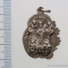 Antigüedades: MEDALLA. REYNA DE LOS ÁNGELES DE ALAJAR. INTERESANTE. Lote 44282965