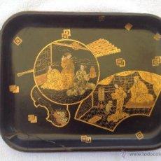 Antigüedades: BANDEJA JAPONESA. S XIX. Lote 44285017