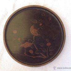 Antigüedades: BANDEJITA CHINA DE LACA. FINALES S XIX. Lote 44285032