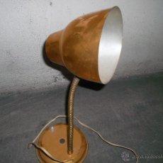 Antigüedades: BONITA LAMPARA DE LOS AÑOS 60 DE MESA. Lote 44290243