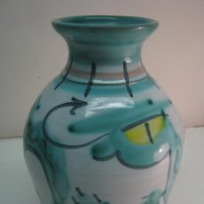 Antigüedades: JARRON SERPIENTE CHINA - TINTAGEL POTTERY CORNWALL. Lote 44296557