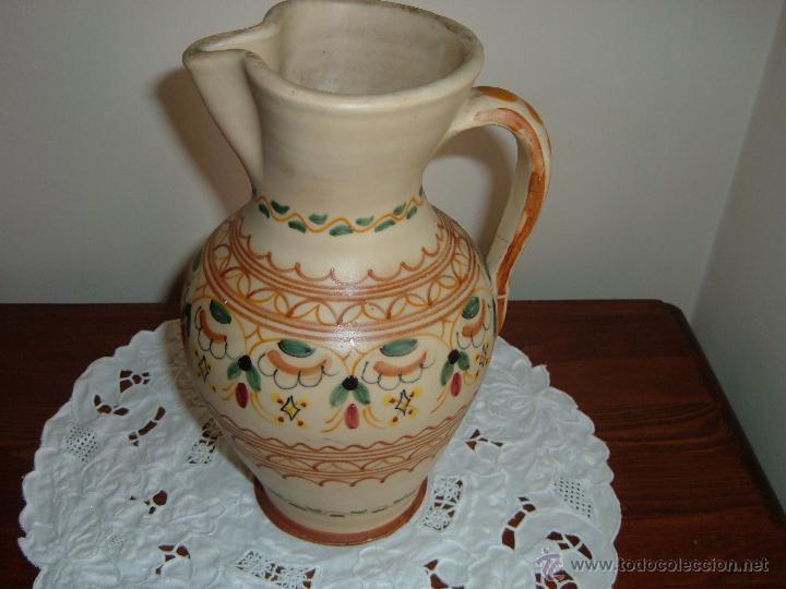 BONITA JARRA PUENTE DEL ARZOBISPO (Antigüedades - Porcelanas y Cerámicas - Puente del Arzobispo )