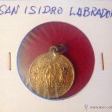 Antigüedades: MEDALLA DE SAN ISIDRO LABRADOR. Lote 44334242