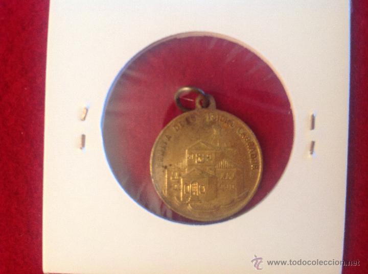 Antigüedades: Medalla de San Isidro Labrador - Foto 2 - 44334242