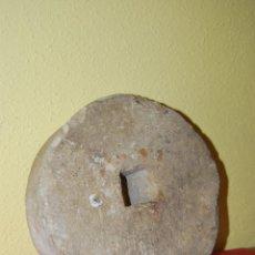 Antigüedades: ANTIGUA PIEDRA DE MOLER - RUEDA DE MOLINO. Lote 44335123