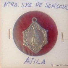 Antigüedades: MEDALLA DE NUESTRA SEÑORA DE SONSOLES, ÁVILA. Lote 44338655