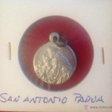 Antigüedades: MEDALLA DE SAN ANTONIO DE PADUA. Lote 44339298