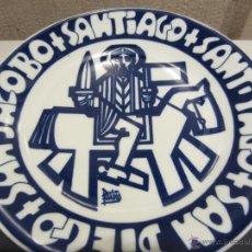 Antigüedades: GRAN PLATO SARGADELOS SANTIAGO EDICION LIMITADA. Lote 44344096