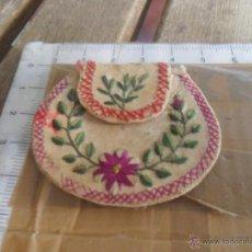 Antigüedades: ANTIGUO ESCAPULARIO BORDADO. Lote 44962620