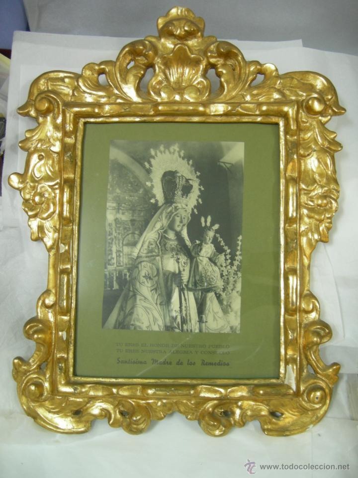 antiguo marco dorado al pan de oro - imagen stm - Comprar Marcos ...