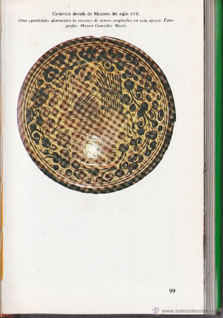 Antigüedades: GRAN PLATO EN CERÁMICA DE REFLEJO METÁLICO, DECORADO CON PARDALOT. MANISES. SIGLO XVII. - Foto 18 - 44351185