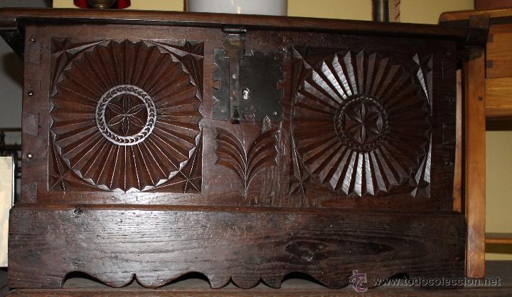 BAUL DE ROBLE S.XX (Antigüedades - Muebles Antiguos - Baúles Antiguos)