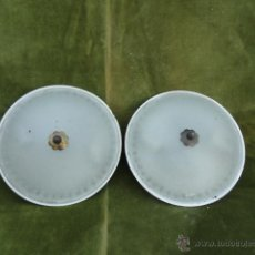 Antigüedades: 2 APLIQUES - LÁMPARAS DE TECHO O PARED.. Lote 44373164