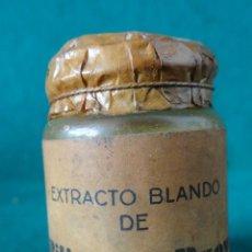 Antigüedades: BILIS DE BUEY ANTIGUO FRASCO FARMACIA AÑOS 1930,S BOTAMEN. Lote 44384631