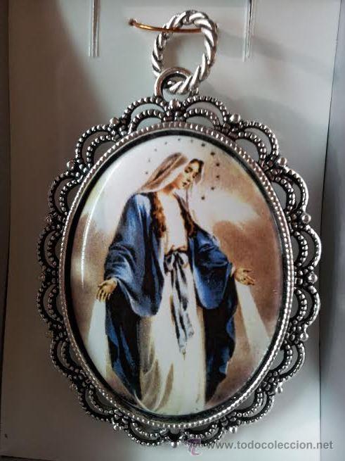 5956d4fbe41 medalla virgen milagrosa esmaltada a fuego - 4x - Comprar Medallas ...
