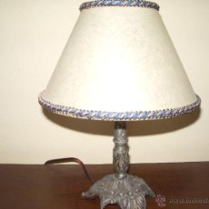 Antigüedades: LAMPARA SOBREMESA. Lote 44406286