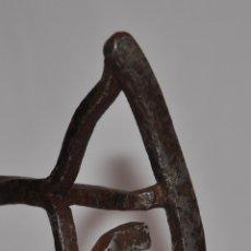 Antigüedades: HIERRO DE MARCAR GANADO DE FORJA.. Lote 44429150