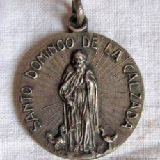 Antigüedades: MEDALLA PLATA ASOCIACIÓN INGENIEROS CAMINOS SANTO DOMINGO DE LA CALZADA. Lote 44429873