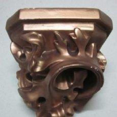 Antigüedades: MENSULA PARA SANTO EN YESO. Lote 44438506