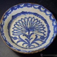 Antigüedades: LEBRILLO CERAMICA DE FAJALAUZA XIX . Lote 44444294