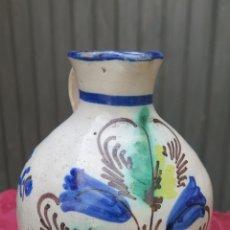 Antigüedades: ANTIGUA ALCUZA DE PUENTE DEL ARZOBISPO. SIGLO XIX. RARO TAMAÑO. Lote 44469902