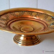 Antigüedades: FRUTERO CENTRO DE MESA * METAL. Lote 44471488