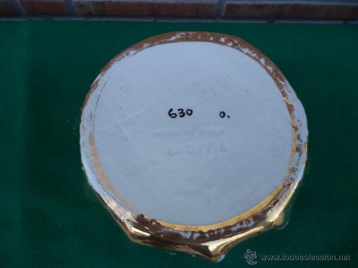 Antigüedades: macetero de porcelana y dorado - Foto 3 - 44471836