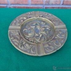 Antigüedades: CENICERO DE BRONCE. Lote 44472715