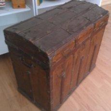 Antigüedades: RARO E INTERESANTE BAUL. Lote 44481003