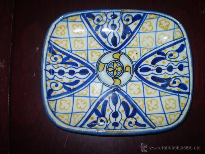 PLATO DE TALAVERA (Antigüedades - Porcelanas y Cerámicas - Talavera)