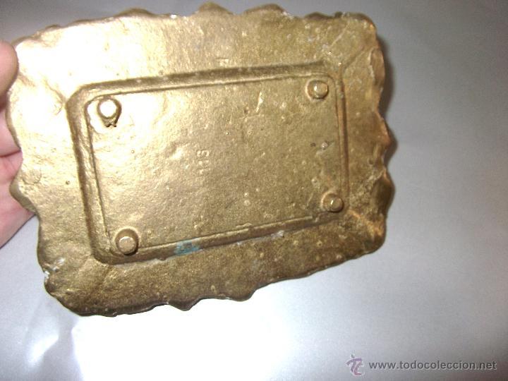Antigüedades: BONITO CENICERO DE DON QUIJOTE DE LA MANCHA EN BRONCE - Foto 4 - 44513813