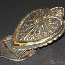 Antigüedades: ANTIGUA PINZA EN BRONCE Y HOJALATA. Lote 44526841