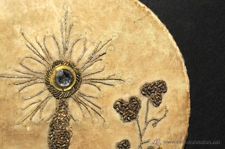 Antigüedades: ANTIGUA TAPA EN TELA BORDADO PARA CALIZ - Foto 4 - 44527665