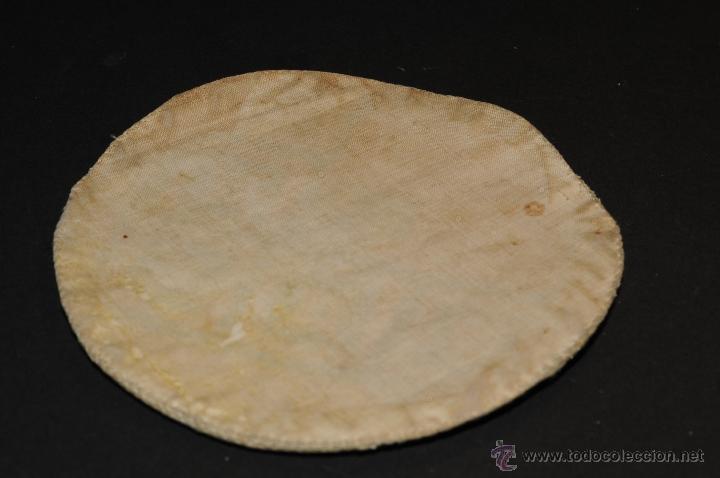 Antigüedades: ANTIGUA TAPA EN TELA BORDADO PARA CALIZ - Foto 7 - 44527665