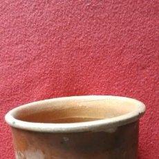 Antigüedades: ANTIGUO MEMBRILLERO DE BARRO. Lote 44559558