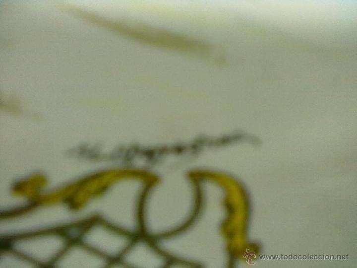 Antigüedades: PLATO PLACE STANISLAS NANCY 1750 FIRMADO ¿HUCBAPPAGNAC? K G LUNEVILLE 84 FRANCE - Foto 2 - 44566655