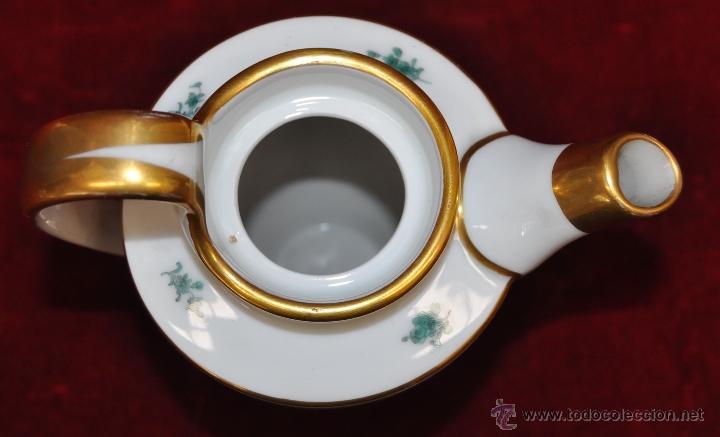 Antigüedades: INTERESANTE CONJUNTO DE CAFÉ EN PORCELANA ALEMANA DEL SIGLO XIX - Foto 26 - 44601663