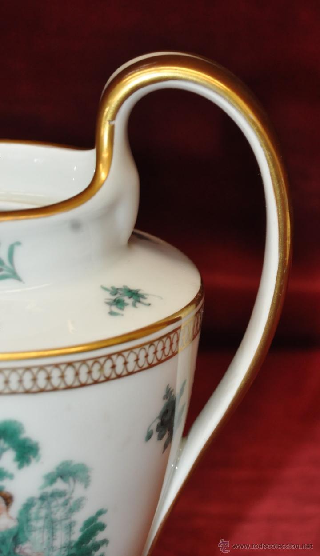 Antigüedades: INTERESANTE CONJUNTO DE CAFÉ EN PORCELANA ALEMANA DEL SIGLO XIX - Foto 32 - 44601663