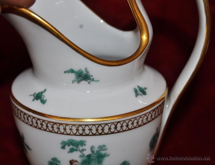 Antigüedades: INTERESANTE CONJUNTO DE CAFÉ EN PORCELANA ALEMANA DEL SIGLO XIX - Foto 35 - 44601663