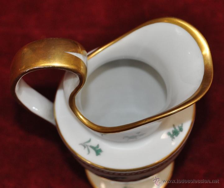 Antigüedades: INTERESANTE CONJUNTO DE CAFÉ EN PORCELANA ALEMANA DEL SIGLO XIX - Foto 39 - 44601663