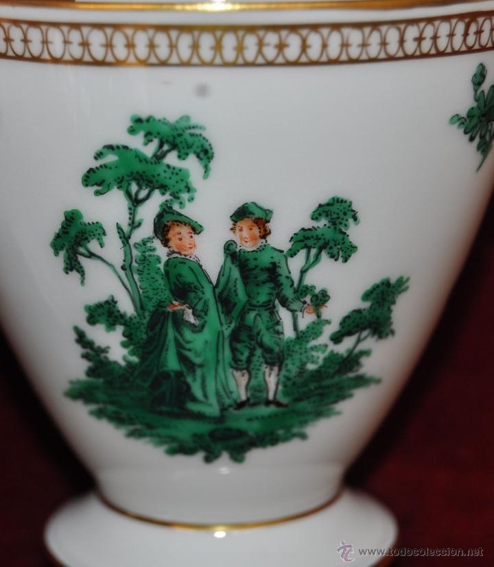 Antigüedades: INTERESANTE CONJUNTO DE CAFÉ EN PORCELANA ALEMANA DEL SIGLO XIX - Foto 44 - 44601663