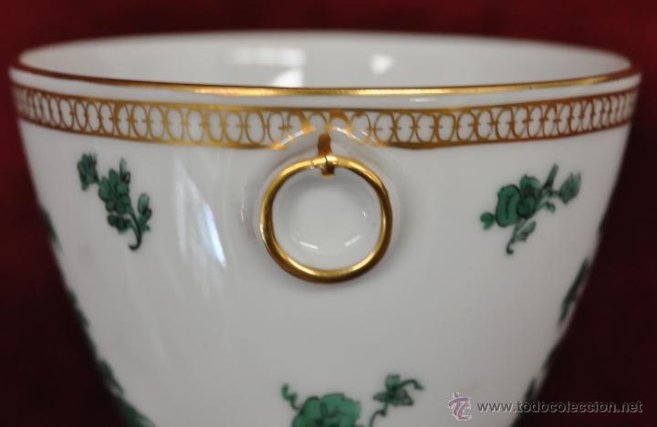 Antigüedades: INTERESANTE CONJUNTO DE CAFÉ EN PORCELANA ALEMANA DEL SIGLO XIX - Foto 45 - 44601663