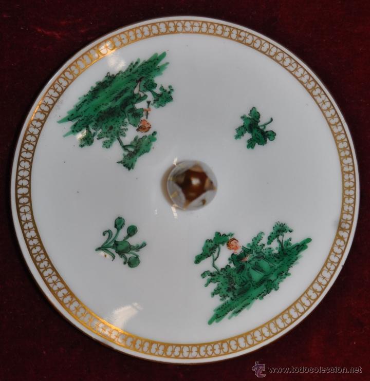 Antigüedades: INTERESANTE CONJUNTO DE CAFÉ EN PORCELANA ALEMANA DEL SIGLO XIX - Foto 48 - 44601663